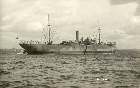 Major Walker's ship HMAT A45 Hessen - aka Bulla - has an interesting story too