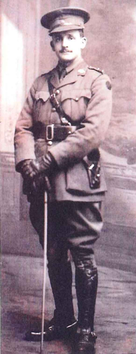 Major Sydney James Walker in army uniform
