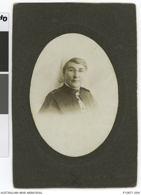 Photograph of Matron Rose Ann Creal from Parkes owned by Australian War Memorial