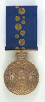 Medal of the Order of Australia. Ron Harrison was awarded this for his service to the community in 1982