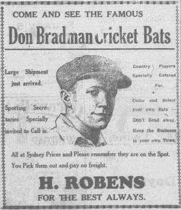 bradman 3 Western Champion Thursday October 24, 1929
