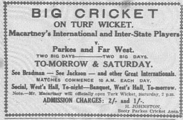 bradman Western Champion Thursday October 24, 1929