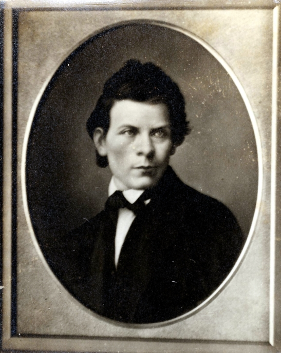 Photograph of a young Henry Parkes. From the collection of the State Library of New South Wales [PXA 345, 19a] (Mitchell Library) as found on the Dictionary of Sydney website