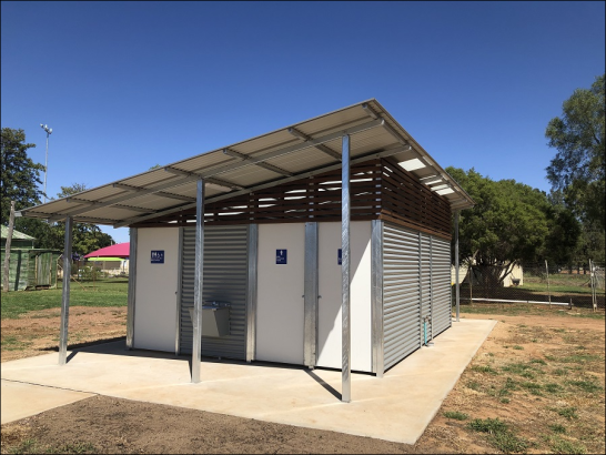 A town that produces top quality sports stars now with amenities to match. Photograph by Katrina Dwyer (Parkes Shire Council) taken on February 21, 2019