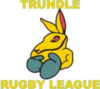 Logo of the Trundle Boomers Rugby League club who play at Berryman Park. Source: Foxsportspulse website