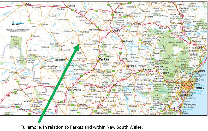 Map Of Ireland Major Cities.Tullamore Parkes Shire S Link To Ireland History Parkes