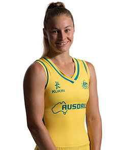 Profile picture of Mariah Williams, member of Hockeyroos team for 2016 Olympic Games. Source: Hockey Australia website