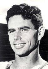 Jim Bailey. Middle-distance athlete for Australia. Source: Oregon Sports Hall of Fame website