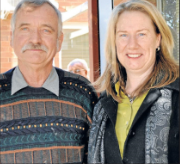 Geoff Witherow (left) nominate by Kay Stone. Source: Parkes Champion Post Wednesday July 11, 2012 page 8