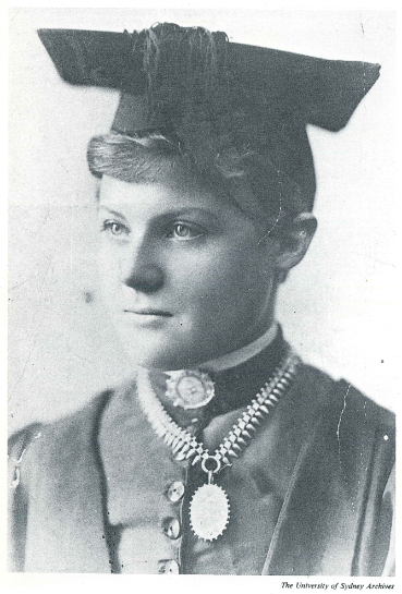 Portrait of Dr Dagmar Berne from the Univeristy of Sydney archives. Source: Neve, Marjorie Hutton (1980) 'This Mad Folly!' The History of Australia's Pioneer Women Doctors Library of Australian History: North Sydney page 81