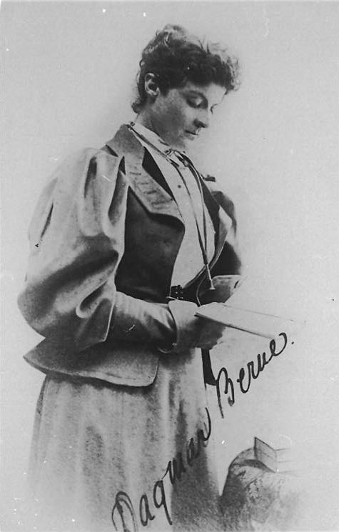 Dagmar Berne dated 1890. Source: University of Sydney Archives http://sydney.edu.au/arms/archives/history/senate_exhibitions/students_women_history_medicine.shtml