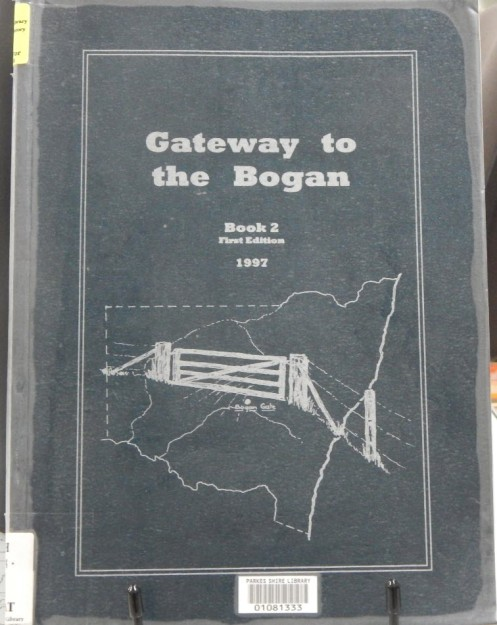 Gateway to the Bogan Book 2 continues to tell the fascinating history of Bogan Gate. This book can be found in the Family & Local History resource room. Photography: Dan Fredericks (Parkes Library) taken on Friday 3rd March 2017