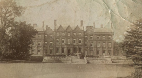 Photograph of Ashburnham Place in the late 19th century, home of 4th Earl of Ashuburnham. Source: Landed Families blog