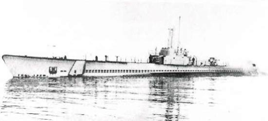 Accompanying HMAS Parkes on her maiden voyage into war action was US submarine USS Seahorse (SS-304). Source: uboat.net website