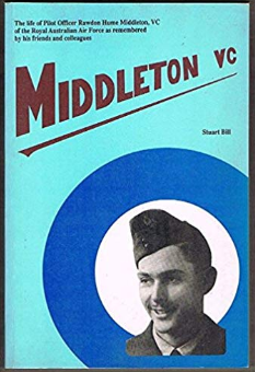 Photograph of the front cover of Stuart Bill's thoroughly researched biography, Middleton, VC. This book is one of the reference resources in Parkes Library's Family & Local History room. Source: www.amazon.com