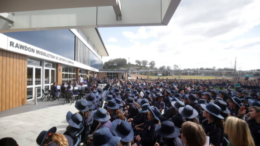 Thomas Hassall Anglican College, located in the Sydney suburb of Middleton Grange, named their new sports complex after Rawdon Middleton. Source: Liverpool City Champion August 24, 2018