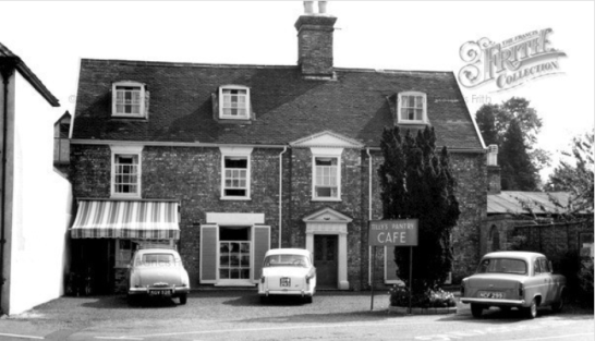 A photograph of Tilley's Pantry circa 1965. This was the place where Rawdon and Mary would regularly meet. Source: Francis Frith website