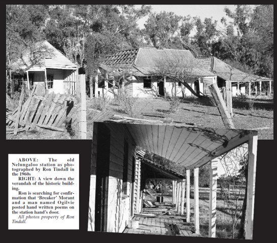 Former editor of Parkes Champion Post, Ron Tindall, took these photographs of Nelungaloo station in the 1960s. The photographs were sent to his successor, Roel ten Cate, who published them. Source: Parkes Champion Post Friday, October 12, 2007, page 8
