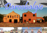 "Feature picture of Daroobalgie highlighting past and present. Top: photograph of the Central West Boomerangs, one of many ""snowball"" marches during the Great War; centre, current photo of the disused Daroobalgie Abbatoir buildings; and bottom, Parkes motocross riders at the Forbes Auto Sports Club at Daroobalgie."