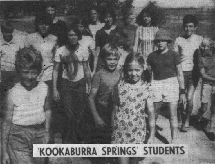 Front page of the local paper and appearing in a film - these are some of the locals used in Sunstruck. Source: Parkes Champion Post Wedneday January 19, 1972 p.1